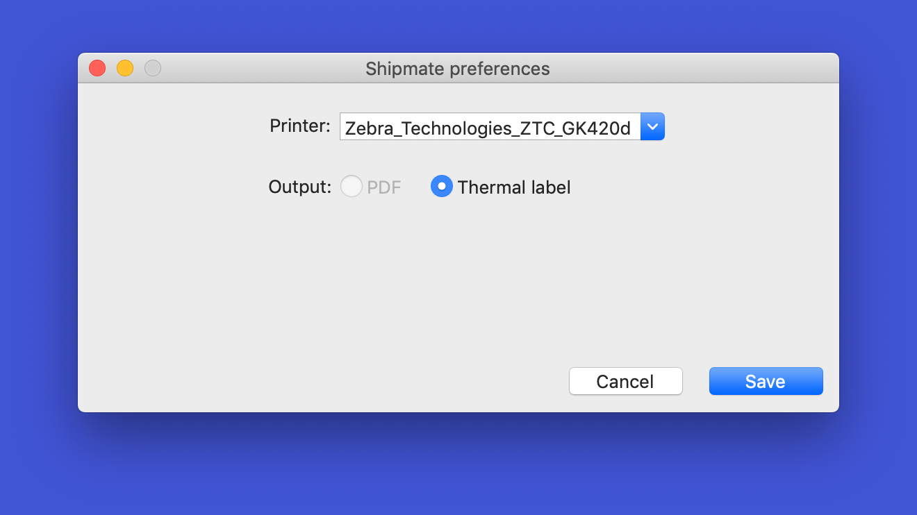 shipmate Macos Preferences